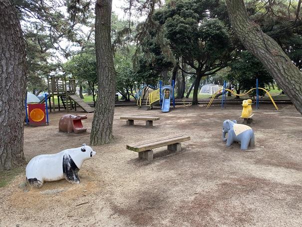 一の宮の公園