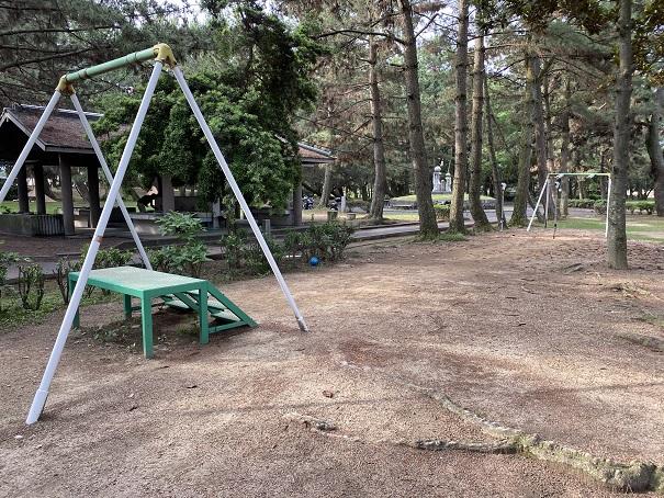 一の宮公園ターザンロープ