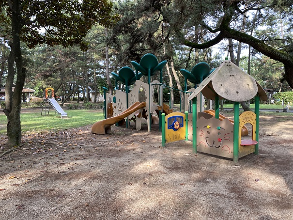 一の宮公園小さい子供の遊び場