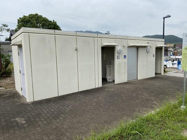 馬篠漁港トイレ