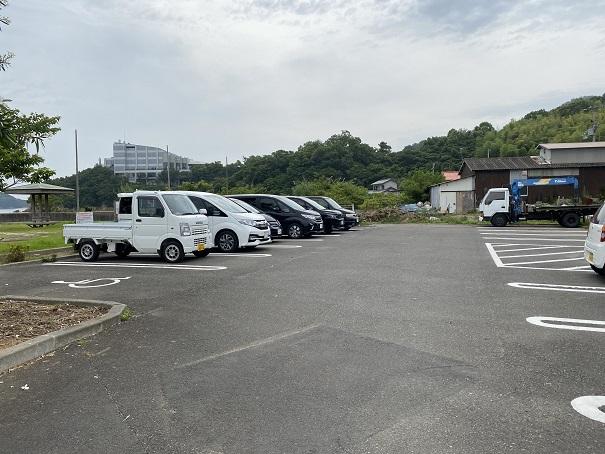 馬篠漁港駐車場
