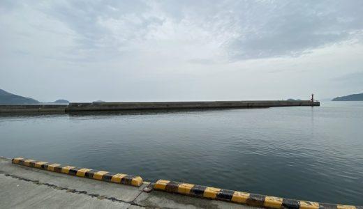 津田港でアジやサバやイワシをサビキ釣り さぬき市