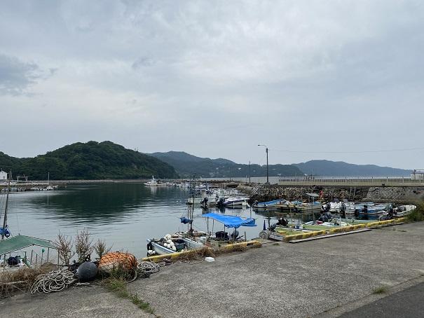 小田浦漁港の船