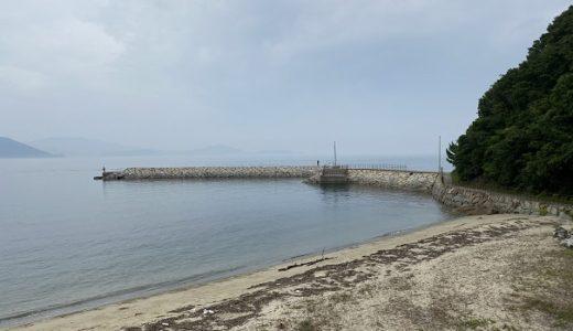 海釣り公園跡地で五目釣りやサビキ釣り 大串半島の先端近く さぬき市