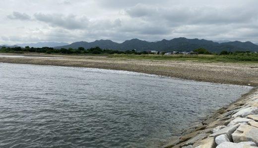 湊川河口のキス釣り 投げ釣り引き釣り 東かがわ市