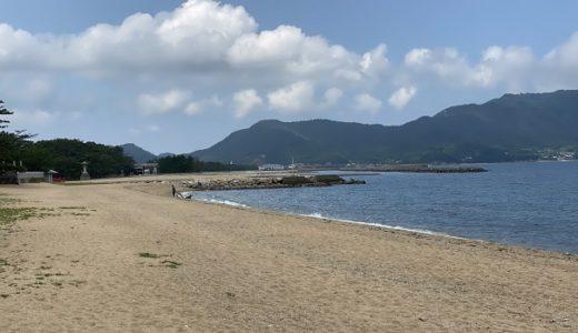 津田の松原海水浴場とふるさと海岸でキス釣り さぬき市