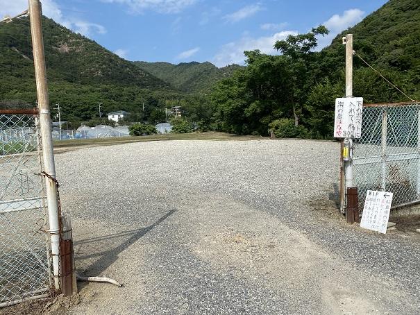 名部戸海水浴場駐車場