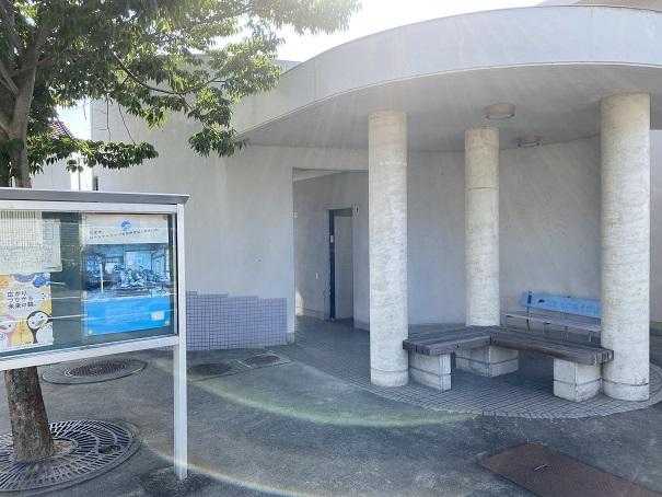 名部戸海水浴場公衆トイレ