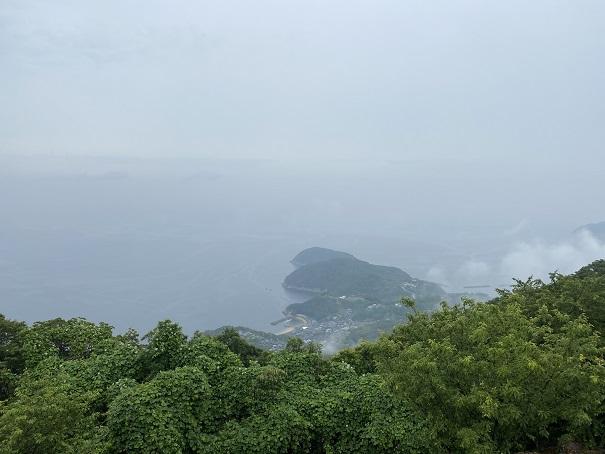 紫雲出山 山頂展望台からの景色