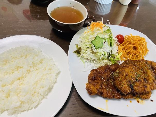 Manma風ソースカツランチ
