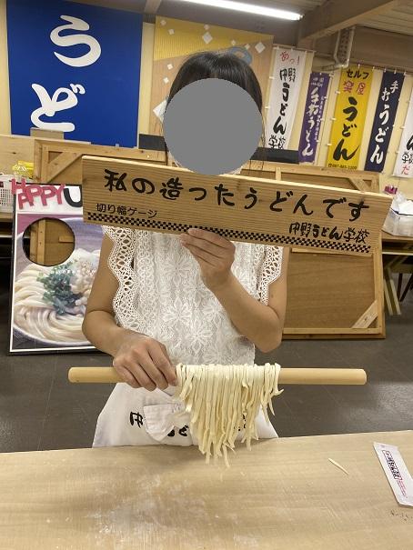中野うどん学校高松 記念撮影