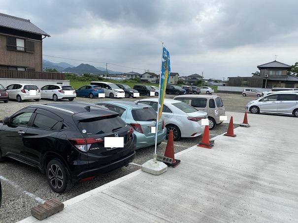 井戸モール 駐車場