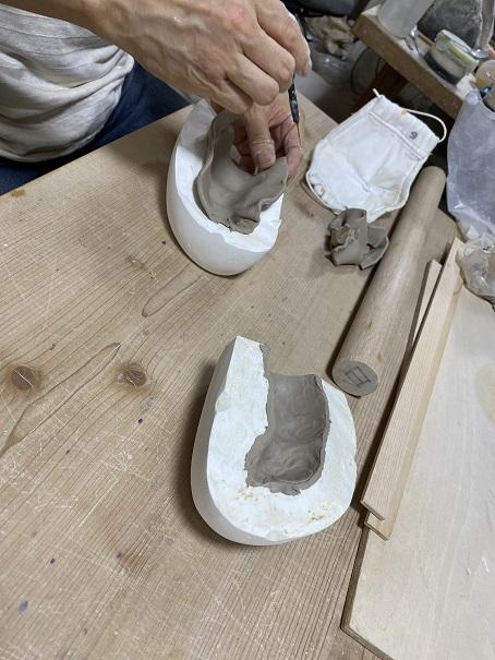 栗山窯 土鈴作り2