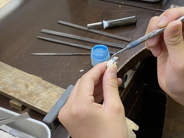 Dizzy459 シルバーリング作り10