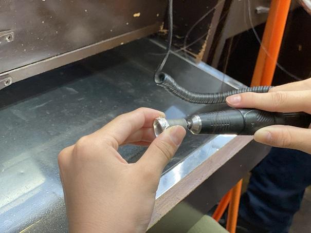 Dizzy459 シルバーリング作り磨き3