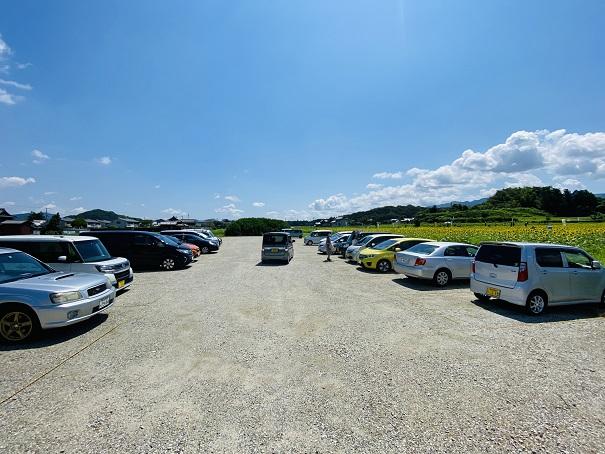 帆山ひまわり団地駐車場