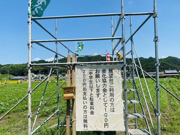 帆山ひまわり団地特設展望台料金