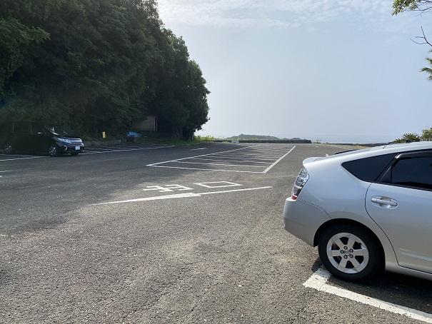 浮津海水浴場駐車場