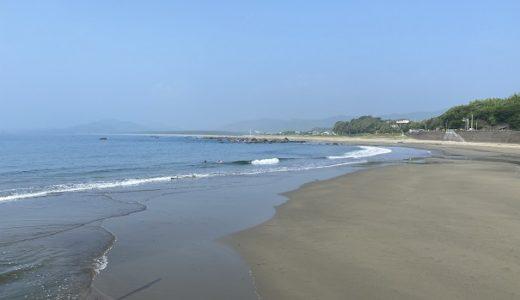 浮津海水浴場 キャンプやボディボードが出来る 黒潮町