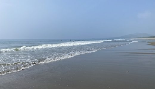 大方浮鞭サーフィンポイントは波乗りが楽しめる 黒潮町