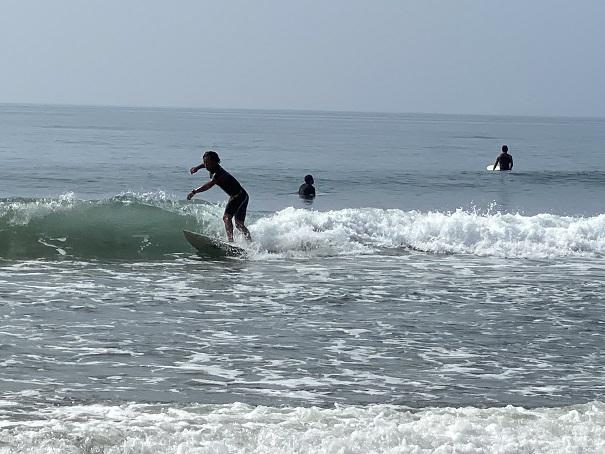 大方浮鞭サーフィンポイントサーファー