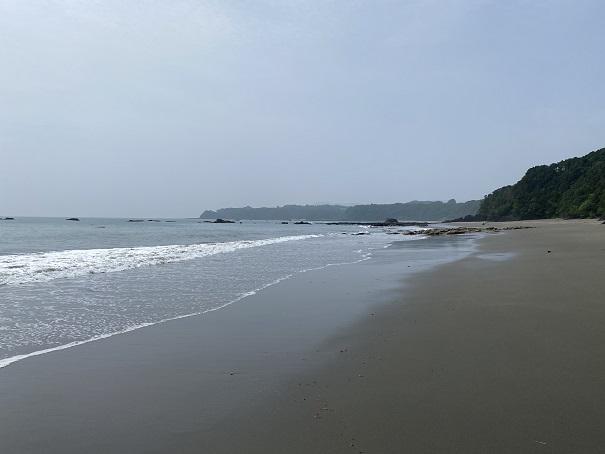 平野サーフィンビーチ風景