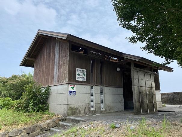 大野サーフビーチトイレ