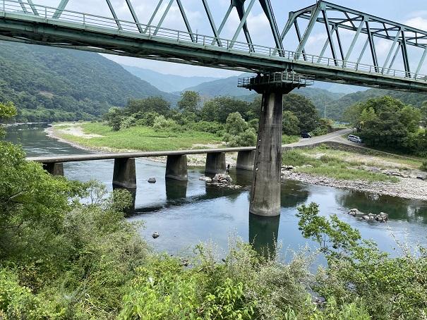 三島キャンプ場沈下橋