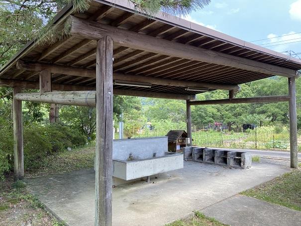三島キャンプ場炊事場