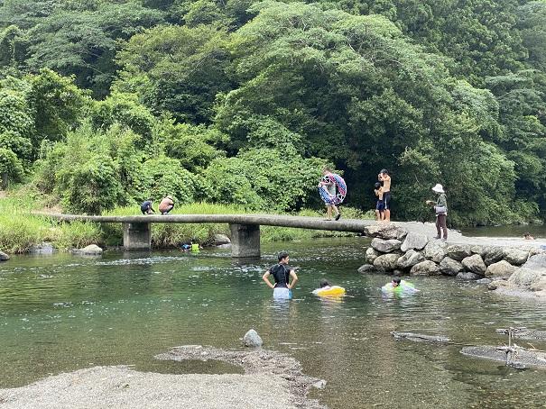 新荘川 新土居キャンプ場
