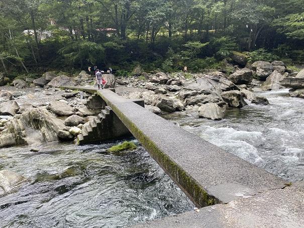 富郷キャンプ場 橋