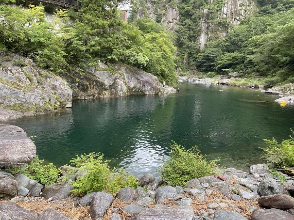 銅山川 流れのないところ