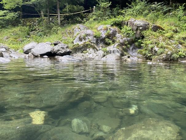 銅山川 水