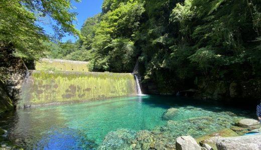 安居渓谷 日本一の水質仁淀ブルーの仁淀川で川遊びと観光
