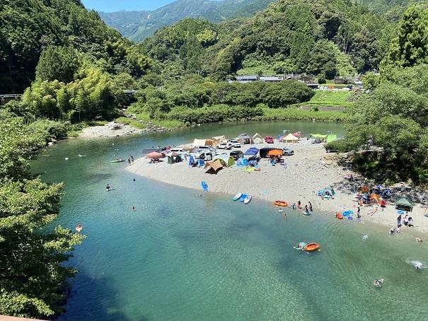 宮崎の河原キャンプ場