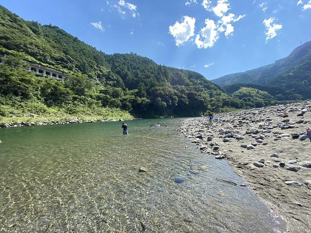 仁淀川 小浜キャンプ場