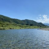 仁淀川の木村キャンプ場