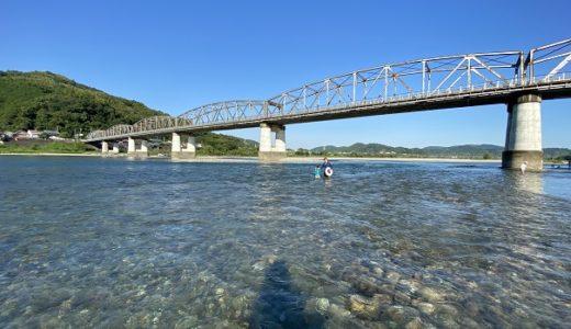 波川公園で川遊び 高知市内から一番近い仁淀川 いの町