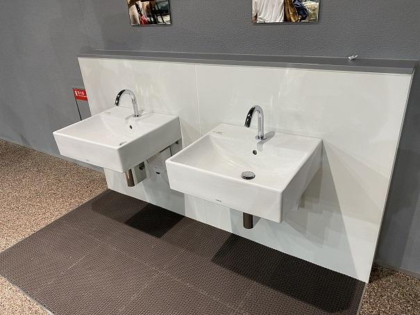 新・足摺海洋館 タッチプール手洗い