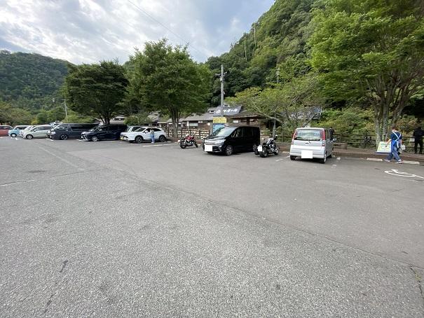 道の駅 しおのえ駐車場