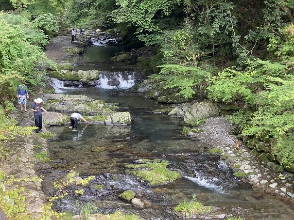 美霞洞渓谷 川3