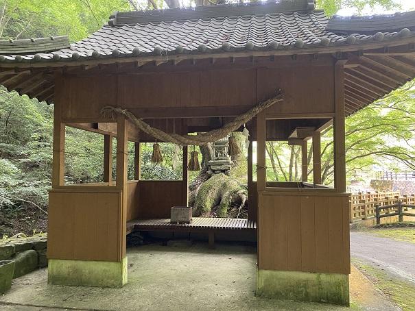 美霞洞渓谷 石鎚神社