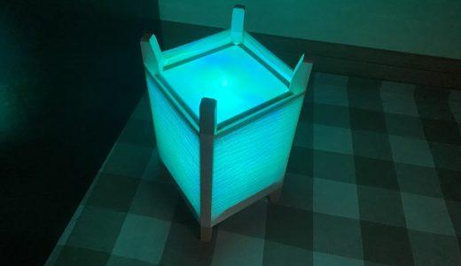 美馬蚕糸館 繭玉を紡いで作る七色ランプシェード作り体験 徳島県美馬市