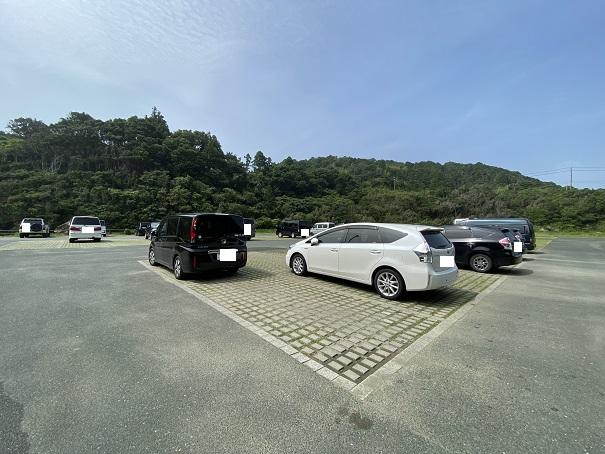 双海サーフビーチ 駐車場
