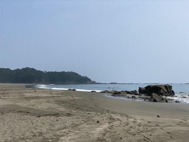 双海サーフビーチ 左側