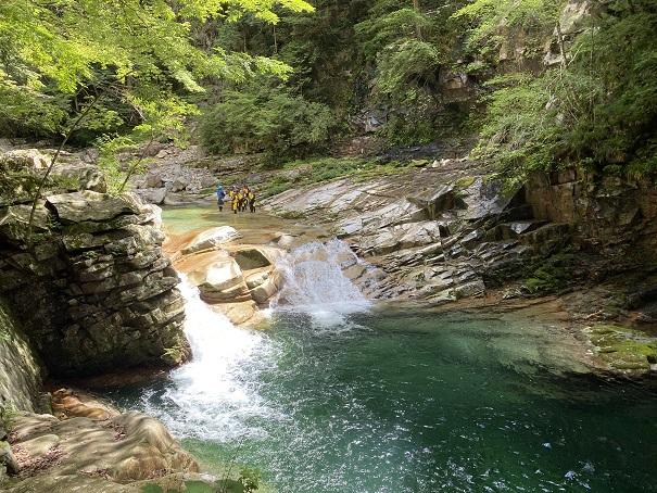 面河渓 滝