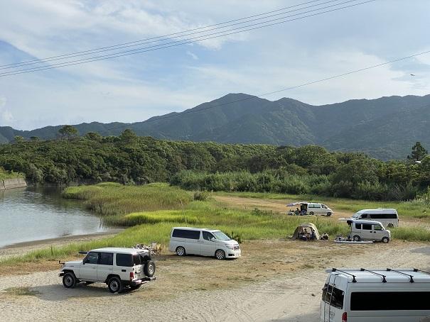 大岐の浜駐車場