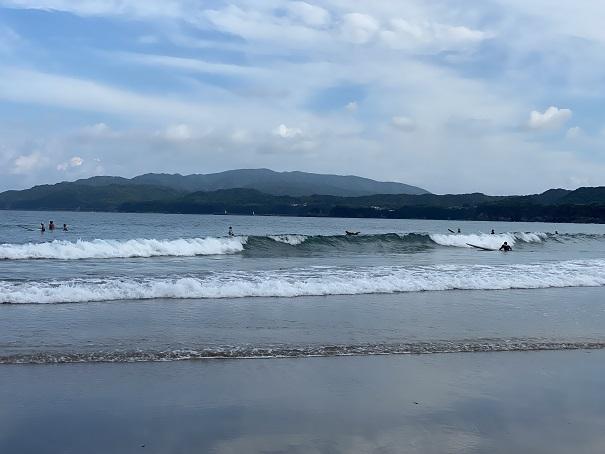 大岐の浜サーフィン