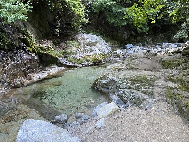 鈍川渓谷 木地川
