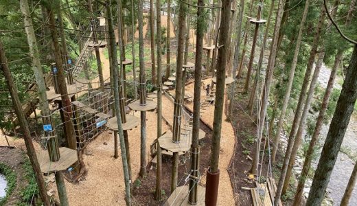 フォレストアドベンチャー西条 四国最大級のツリーアスレチック 愛媛県